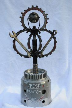 Best Car Show Trophies Images On Pinterest In Metal Art - Homemade car show trophies