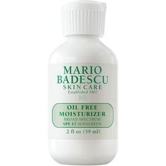 Women's Mario Badescu Oil-Free Moisturizer Spf 17 ($24) ❤ liked on Polyvore featuring beauty products, skincare, face care, face moisturizers, no color, mario badescu skin care, oil free face moisturizer and face moisturizer Beauty Tips, Beauty Products, Beauty Hacks, Hair Beauty, Face Care Routine, Moisturizers, Aud, Mario, Hair Makeup