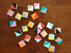 geometric blocks -- scattered