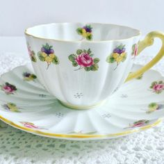 Shelley Ludlow Tea Cup & Cup