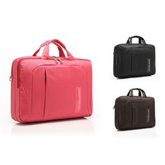 nice Anti Shock Proof Women Messenger Bags in Pink Color for 14 , 15 inch laptop computer with durable material and fashion design