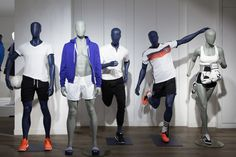 Showroom 2016 PLAYGROUND Mannequins Sport collection | Cofrad mannequins   La Maison #2 by Cofrad