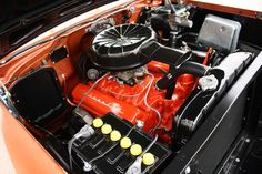 1955 Chevy , 265...the little engine that still can! Power
