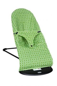Trixie-Baby baby bjorn bouncy seat cover--if we ever get sick of the color of our bouncer