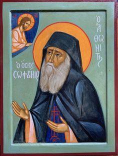 The icon of a new saint. Saint Sophrony | PEMPTOUSIA