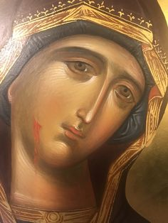 Byzantine Icons, Byzantine Art, Blessed Virgin Mary, Orthodox Icons, Blessed Mother, Sacred Art, Triptych, Christian Art, Kirchen