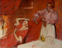 Edgar Degas Combing the Hair (La Coiffure)