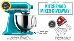 Win A Free KitchenAid Mixer (2 Prizes)! Win this awesome KitchenAid mixer from @youniftything https://wn.nr/TSSKAn 1/31