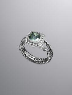 Petite Albion Ring, Prasiolite   Women Rings   David Yurman Official Store