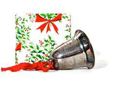 KIRK STEIFF / Christmas Bell Silver Plate 1980 / by SueEllensFlair