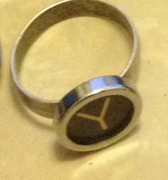 Typecast Ring Y is for YOLO by LongingFor on Etsy, $20.00