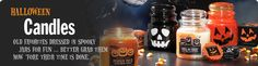 Happy Halloween Candle ...About This Fragrance ...Scary good . . . a hauntingly purr-fect potion of black licorice with anise and cloves.