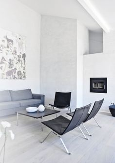 Calm and Natural Nordic Interior Design - Fredensborg House by NORM Architects - DigsDigs Contemporary Clocks, Modern Wall, Modern Decor, Colour Architecture, By Lassen, Interior Minimalista, Unique Wall Clocks, Scandinavian Style, Interior Decorating