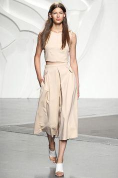 PRONTA E VESTIDA street style culotes culottes outfit look
