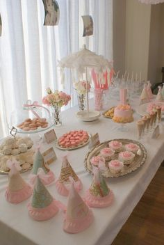 Shabby Chic Party Buffet