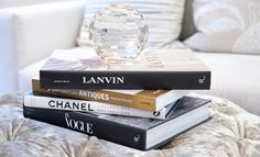 Perfect coffee table books - Emma Lovenberry - Classic contemporary styling accessories Hampton Surrey