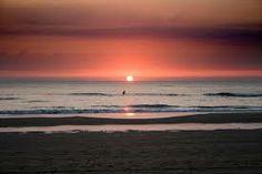 Zonsondergang in Zandvoort aan Zee