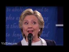 10 Oct '16:  Hillary's Parkinson's Can't Hide - Even at the Debate - YouTube - Webtech Vidzette - 5:16