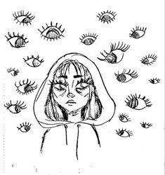 Indie Drawings, Art Drawings Sketches Simple, Cool Drawings, Ideas For Drawing, Space Drawings, Aesthetic Drawings, Random Drawings, Cool Sketches, Arte Grunge