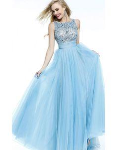 Cheap Light Blue Sherri Hill 11022 Prom Dress - $178.00 : Buy Designer 2014 Dresses For Prom,Homecoming Dresses Online