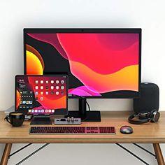 Unlock your iPad's potential with Satechi ⚡️ Gaming Computer Setup, Gaming Room Setup, Gaming Pcs, Computer Laptop, Office Setup, Pc Setup, Ipad Pro, Graphic Design Studio, Graphic Art