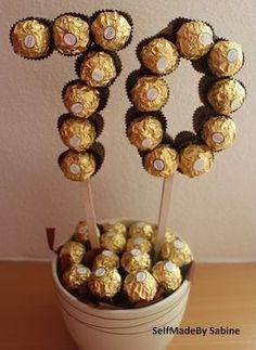 SelfMadeby Sabine: Ferrero Rocher Geburtstagsüberraschung