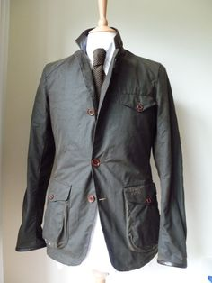 Barbour Commander Jacket as seen on James Bond in Skyfall in Clothes, Shoes & Accessories, Men's Clothing, Coats & Jackets | eBay