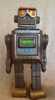 Vintage 1960's SH Horikawa Space Tin Robot Mr Zerox Made in Japan Very RARE | eBay