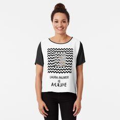 Laura Palmer, Chiffon Tops, Tank Man, Mens Tops, Stuff To Buy, Fashion, Moda, Fashion Styles, Fashion Illustrations
