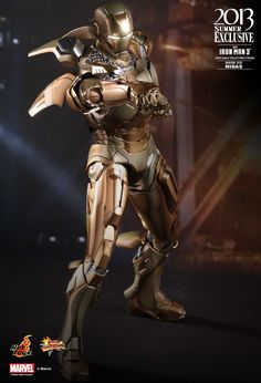 Hot Toys : Iron Man 3 - Midas (Mark XXI) Collectible Figure 1/6th scale Collectible Figure