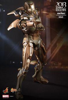 Hot Toys : Iron Man 3 - Midas (Mark XXI) Collectible Figure 1/6th scale Collectible Figure