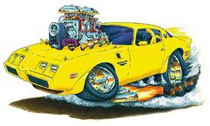 Madd Dogg's Muscle Car Art | Model - Hardtop Convertible