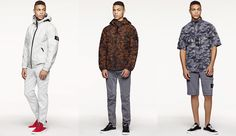 Start compiling your wishlist now - the Stone Island SS16 lookbook is here.