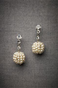 Golden Raspberry Earrings in The Bride Bridal Jewelry Earrings at BHLDN