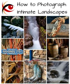 Some great tips on looking for details in landscapes and creating 'intimate landscapes'