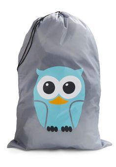 Whos Hoot? Laundry Bag by Kikkerland