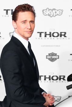 Tom.... When did I start thinking he is so hot?
