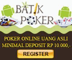 Judi Poker Online -  Poker Uang Asli Indonesia
