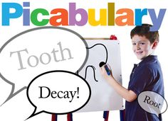 Picabulary vocabulary game, grades 3–12. Integrate art with your next vocabulary lesson by inviting students to play Picabulary. Teams of students select an artist. Artists go head-to-head while their teammates try to guess the vocabulary words they are drawing. When a teammate guesses, he or she is challenged to use the word in a sentence to score extra points.