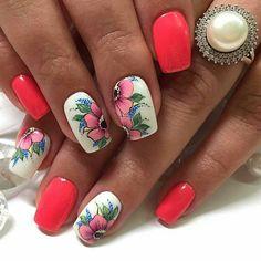 Ideas for nails spring stiletto pink Classy Nail Designs, Cute Nail Art Designs, Beautiful Nail Designs, Soft Nails, Red Nails, Fabulous Nails, Perfect Nails, Spring Nails, Summer Nails