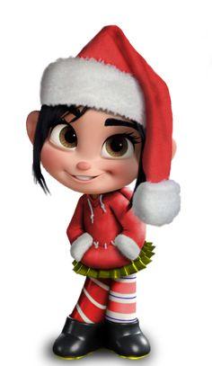 Christmas Vanellope Von Schweetz -- Wreck it Ralph Disney And Dreamworks, Disney Pixar, Disney Characters, Disney Princess Art, Disney Art, Wallpaper Natal, Vanellope Y Ralph, Vanellope Von Schweetz, Cute Christmas Wallpaper