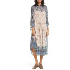 New offer for FREE PEOPLE One Day Midi Dress fashion online. [$500]?@@>>sladress shop<<