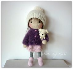 Amigurumi Crochet Doll -Mia by Rusi Dolls RESERVED for Stephanie