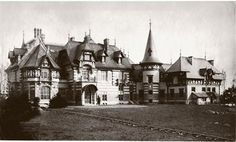 Villa Rothschild erbaut 1888.