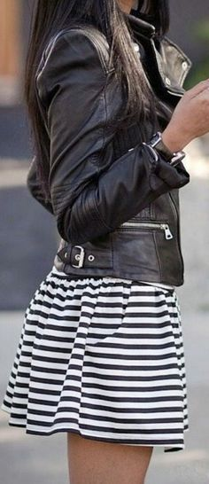 Nautical Stripes & Leather