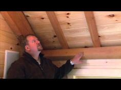 """Unique """"Basket Weave"""" ceiling featuring Eastern White Pine."""