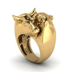 Wall Street Warrior bull and bear ring image 0 Wall Street, Street Tattoo, Bear Wallpaper, Gold Chains For Men, Diamond Eyes, Animal Jewelry, Three Dimensional, Ring Designs, Antique Jewelry