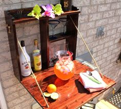 DIY Thursday: Outdoor Bars to Celebrate Over
