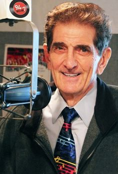 Dick Biondi, Legendary Radio DJ on 'clear-channel' WLS radio from Chicago, possibly the most popular 'pops' station in Boonville as well.