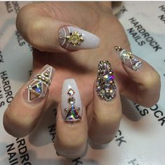 Crystal coffin nails
